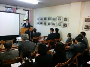 神戸ルーテル神学校で行われた研究会議
