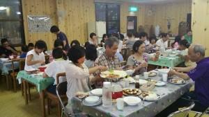 信州バイブルキャンプ 食堂