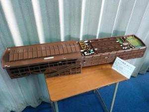 ノアの箱舟の模型