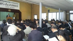 大阪聖書学院での福音主義神学会西部部会