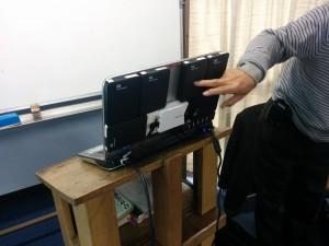 安黒先生のパソコン12テラあるそうです。