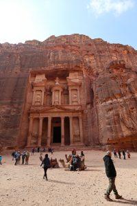 ヨルダン・ペトラ遺跡を見学