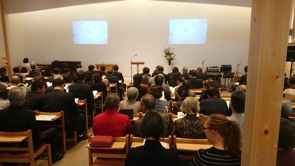 石橋キリスト教会新会堂